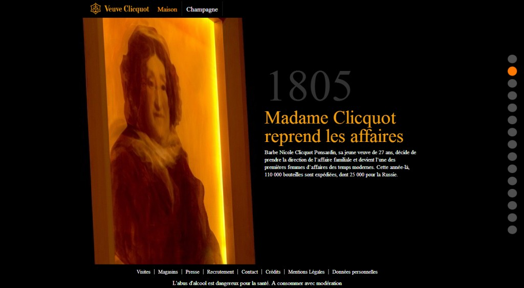 Madame Clicquot Veuve Champagne Storytelling Oenostory