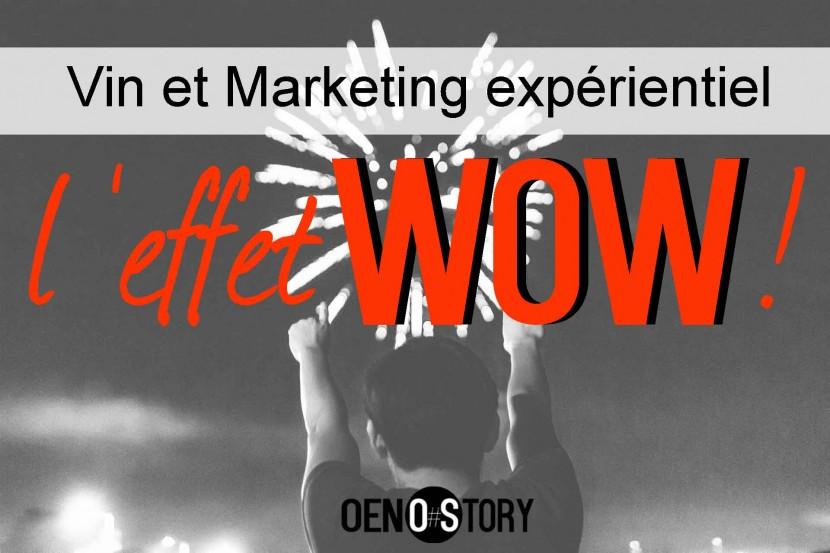Vin et marketing expérientiel l'effet wow Oenostory