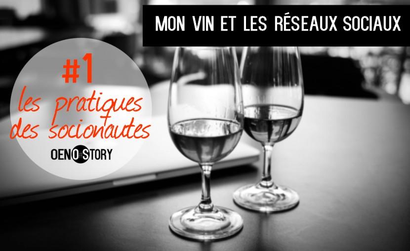 Mon vin et les réseaux sociaux Les pratiques des socionautes Oenostory