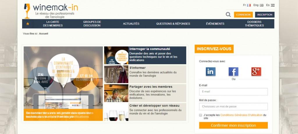 Winemak-in communauté Mon vin et les réseaux sociaux Les pratiques des socionautes Oenostory