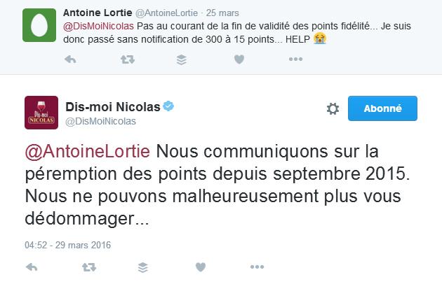 Dis moi nicolas twitter social CRM Mon vin et les réseaux sociaux Les pratiques des socionautes Oenostory