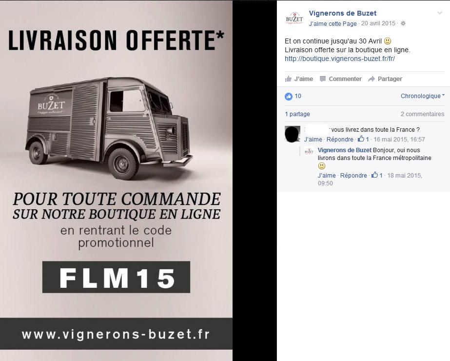 Buzet Mon vin et les réseaux sociaux les 5 types de contenu promotion Oenostory