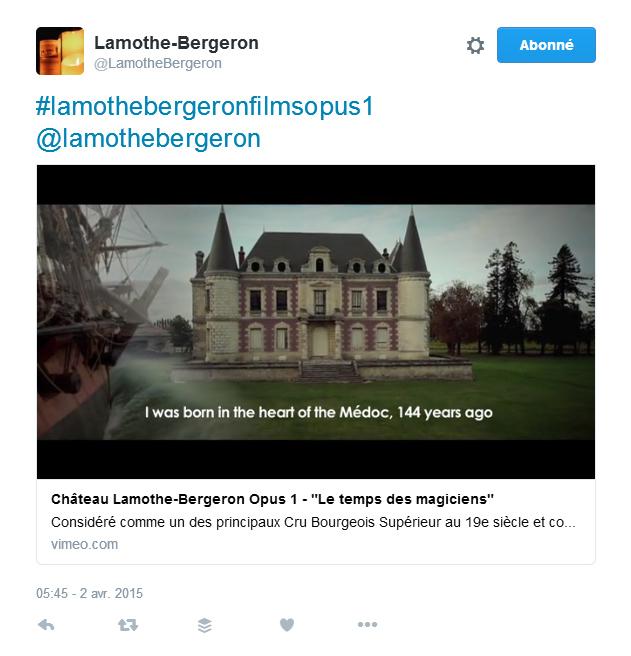 Lamothe Bergeron Mon vin et les réseaux sociaux les 5 types de contenu information générale Oenostory