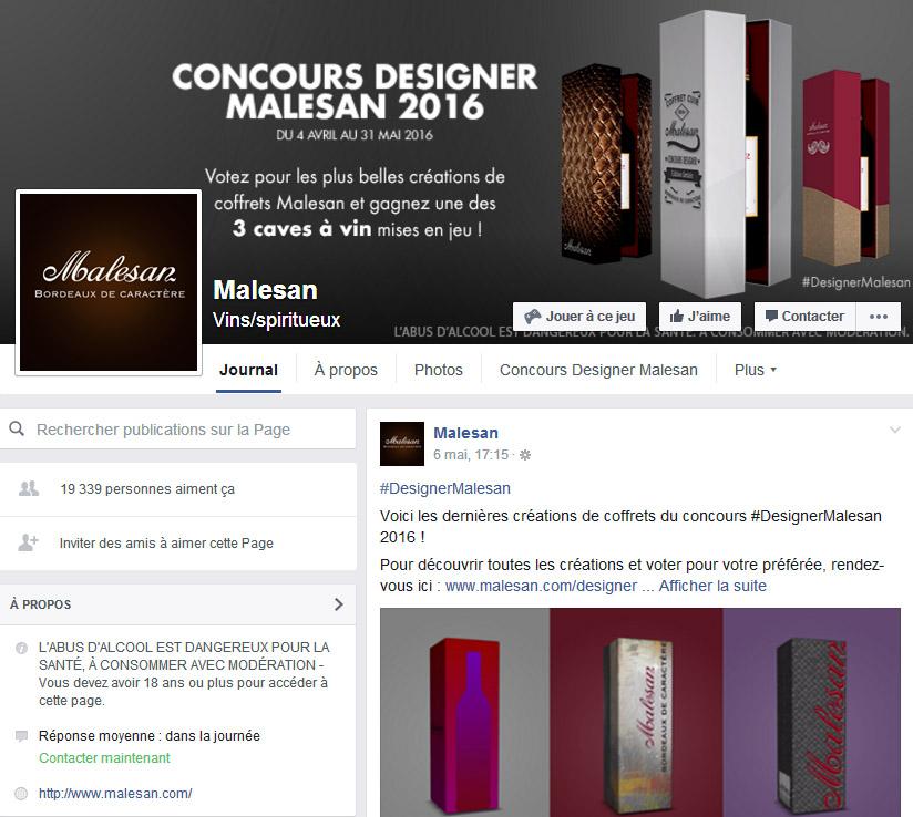 Malesan Mon vin et les réseaux sociaux les 5 types de contenu co-création Oenostory