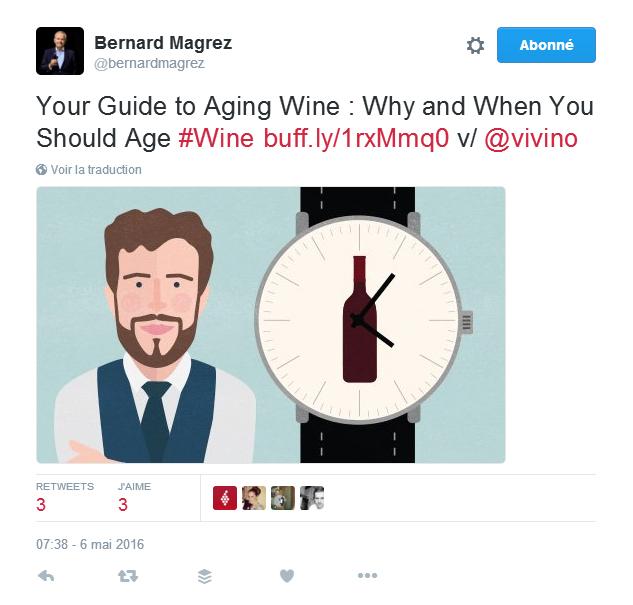 Bernard Magrez mon vin et les réseaux sociaux les 5 types de contenu information générale Oenostory
