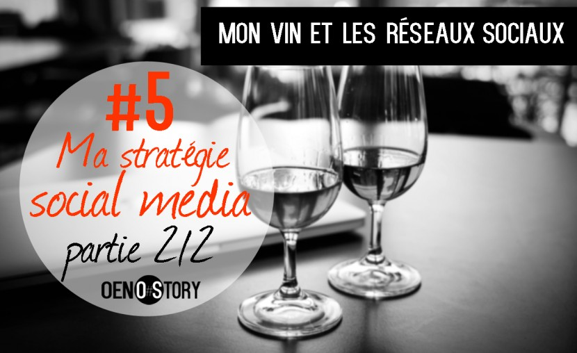 Mon vin et les réseaux sociaux 5 Ma stratégie social media Oenostory