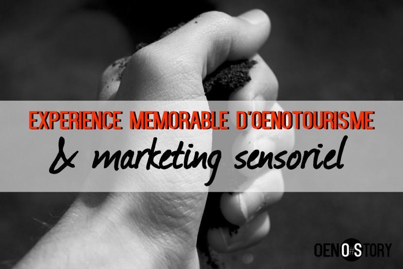 expérience mémorable d' oenotourisme et marketing sensoriel oenostory