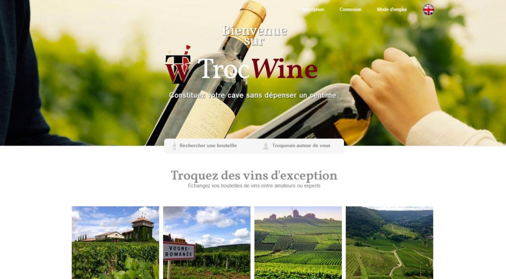 Trocwine Vin et consommation collaborative Oenostory