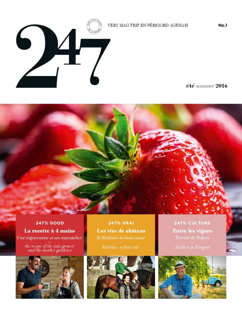 Le Mag 247 N°1 juin 2016 Inbound marketing du vin Oenostory