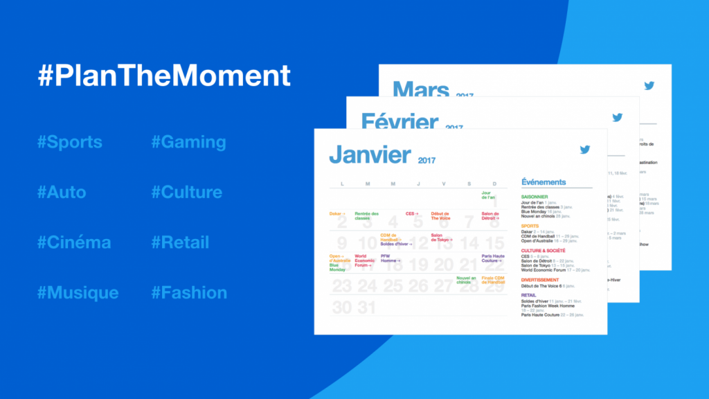 Calendrier marketing 2017 Twitter Plan The Moment Oenostory