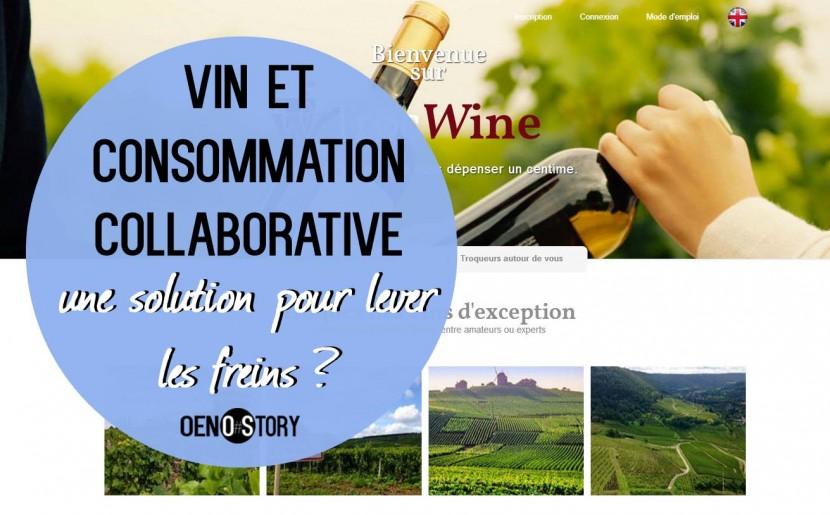Vin et consommation collaborative Oenostory
