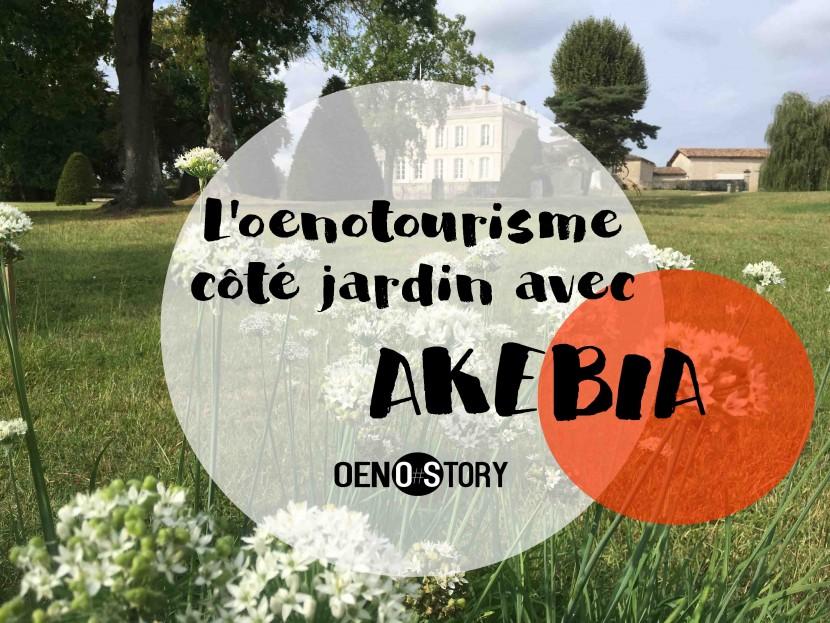 oenotourisme côté jardin avec Akebia jardin potager permaculture paysagiste château de la Dauphine Fronsac